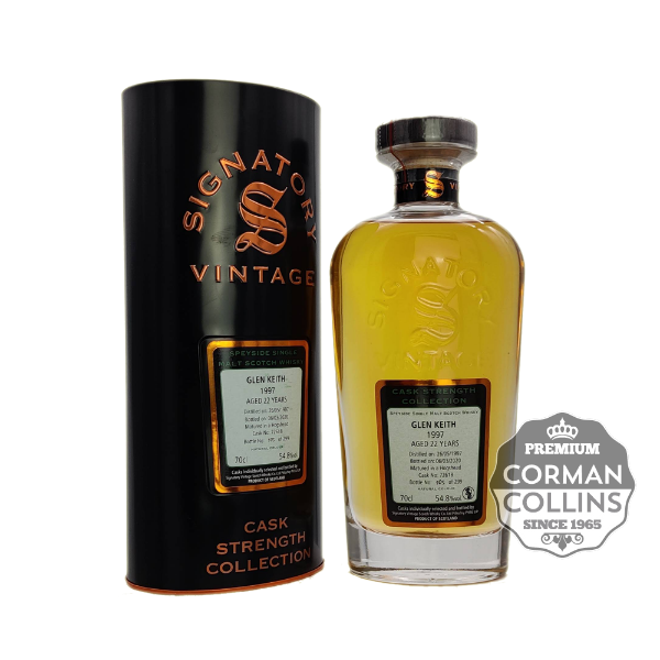 Picture of GLEN KEITH 70 CL 54.8° 1997 22 YO CASK COLLECTION