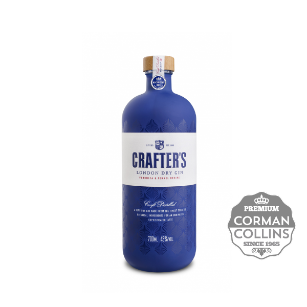 Image de GIN CRAFTERS DRY 70 CL 43°