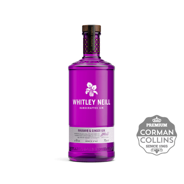 Image de GIN WHITLEY NEILL 70 CL 43° RHUBARB / GINGER